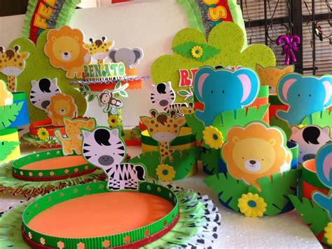 DECORACIONES INFANTILES: animalitos de la selva | cumple ...