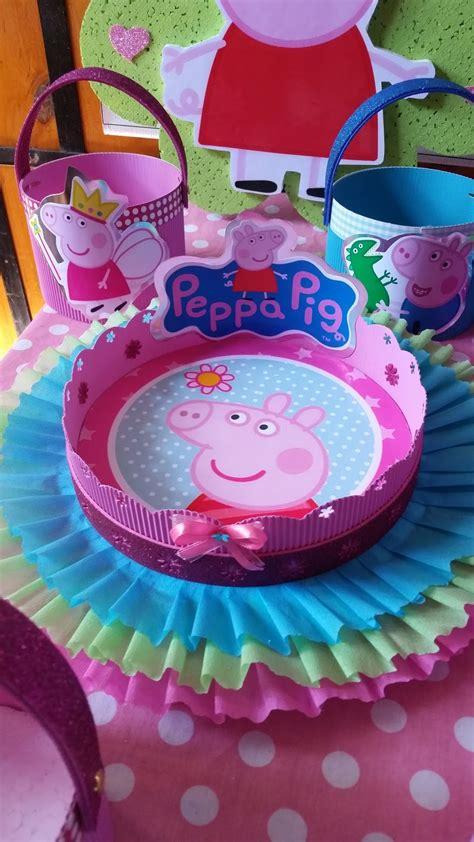 DECORACIONES INFANTILES: peppa pig