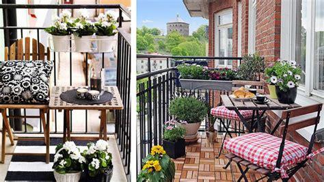 Decorar balcones pequeños
