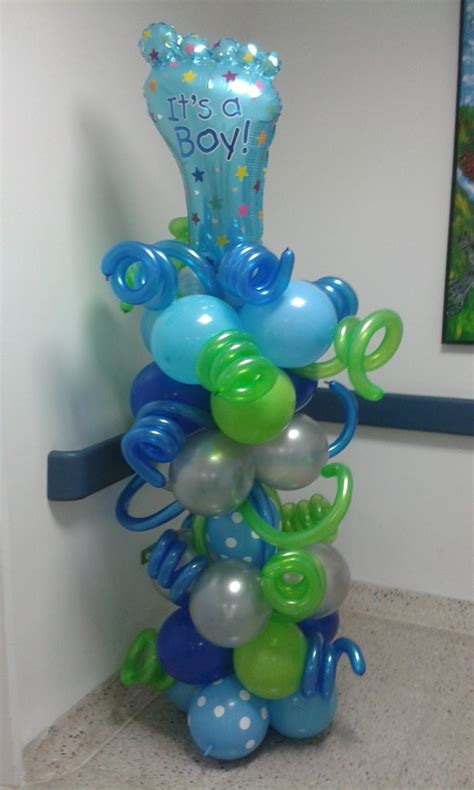 Decorar Clinica Naimiento Globo Puerta Baby Shower ...