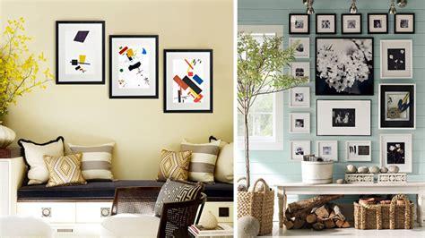 Decorar con cuadros y marcos de fotos
