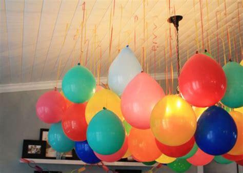 Decorar con globos colgantes   Pequeocio