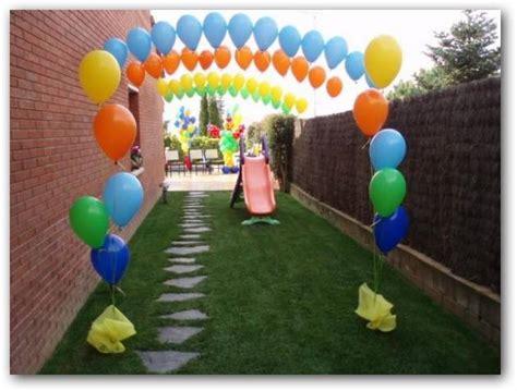 Decorar con globos fiestas infantiles