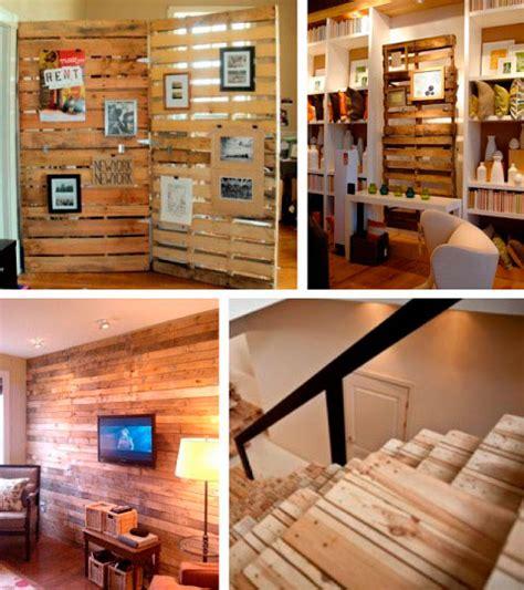 Decorar con palets de madera   Ideas y ejemplos   Decorar ...
