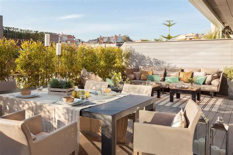 Decorar la terraza según su talla: cómo aprovechar el espacio
