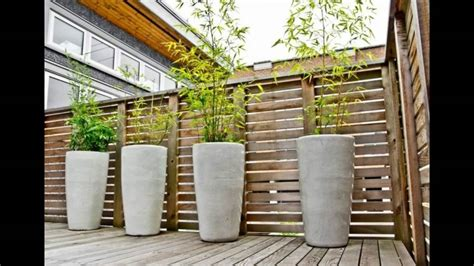 Decorar patios y terrazas con cañas de bambu   YouTube