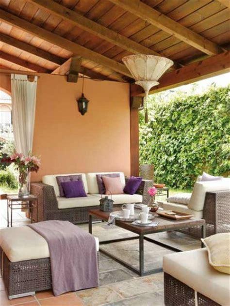 Decorar porches y terrazas cubiertas   DecoActual.com
