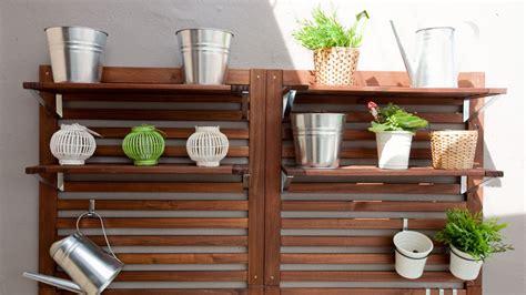 Decorar terraza de estilo chill out - Estanterías