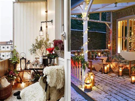 Decorar terrazas con encanto ¡en invierno también!