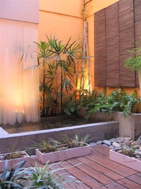 Decorar Un Patio Interior Moderno   Jardindecora flores y ...