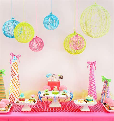 Decorar una fiesta con globos de lana   Pequeocio