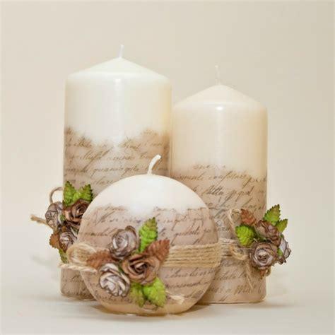 Decorar velas para dar un toque original al interior