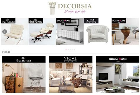 Decorsia, una Tienda de Muebles Online excepcional