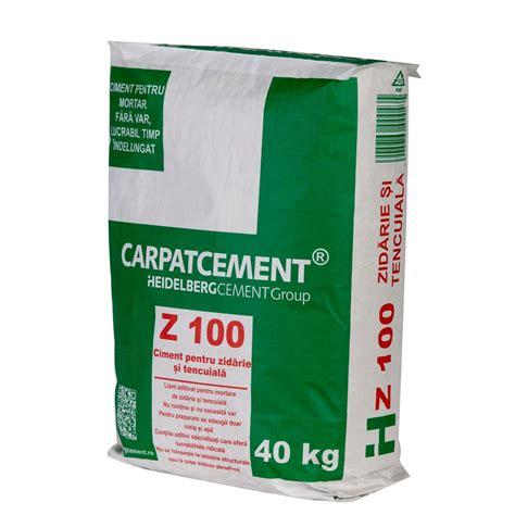 Dedeman Ciment pentru zidarie Carpatcement Z100 40KG ...