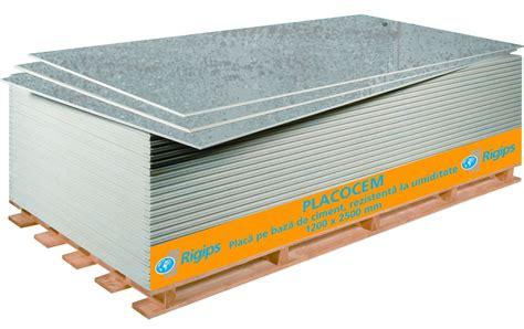 Dedeman Placa gips carton Aquaroc  Placocem  1,2x2,5 m ...