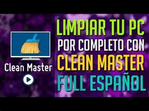 Descargar Clean Master para PC Totalmente Full | El Mejor ...
