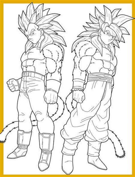 Descargar Dibujos De Dragon Ball Z Para Colorear Gratis