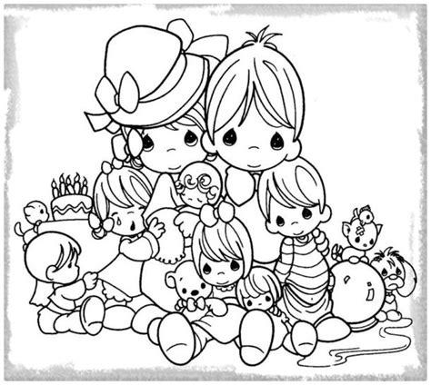 Descargar Dibujos para Colorear sobre la Familia ...