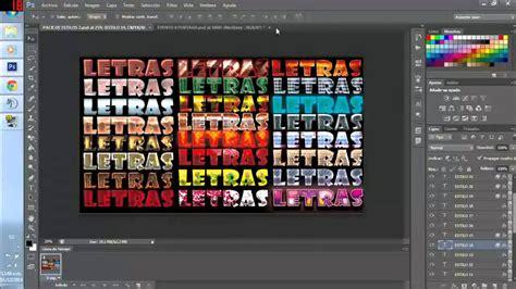 Descargar Estilos de letra Para Photoshop + Pack Gratis en ...