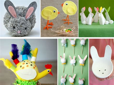 Descubre las mejores manualidades de Pascua para niños