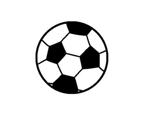 Desenho de Uma bola de futebol para Colorir   Colorir.com