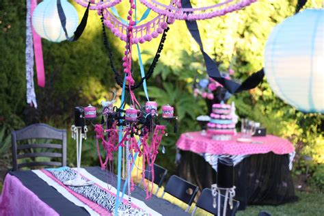 Designed By Dad: Teen Girls Birthday Party   Design Dazzle