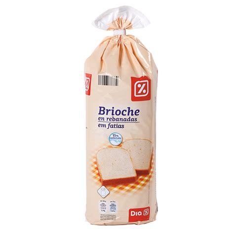 DIA brioche rebanadas bolsa 500 gr | PAN DE LECHE Y ...