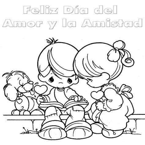 Dia Del Amor Y La Amistad Para Colorear | Colorear.website