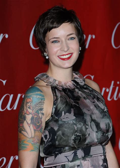 Diablo Cody Portrait Tattoo   Portrait Tattoo Lookbook ...