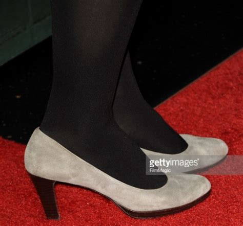 Diablo Cody`s Legs and Feet in Tights