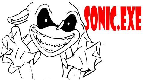 Dibujando a Sonic.exe/How to draw Sonic.exe/ boceto para ...
