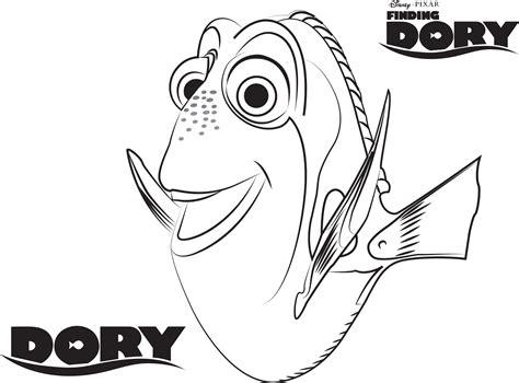 Dibujo de Dory para colorear