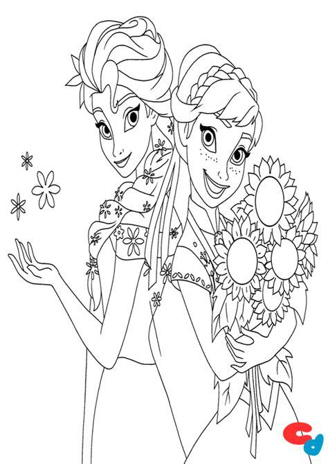 Dibujo de frozen para colorear A imprimir! » Colorear Dibujos