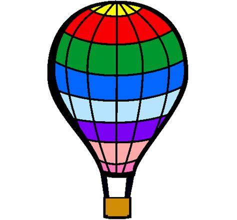 Dibujo de Globo aerostático pintado por Globo en Dibujos ...