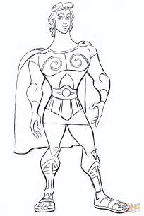 Dibujo de Hércules de Disney para colorear   Dibujos para ...
