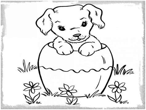 dibujo de un perro para colorear e imprimir Archivos ...