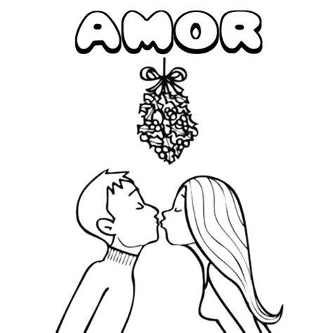 dibujo del amor para colorear Archivos | Dibujos de Amor a ...