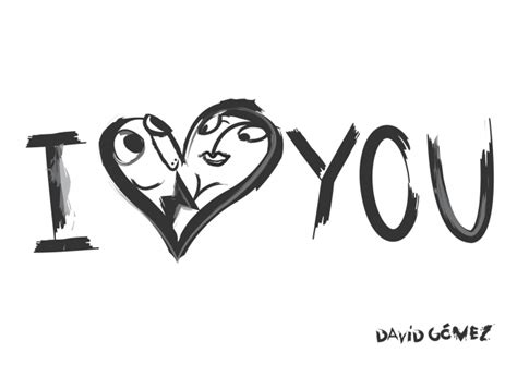 Dibujo I love you