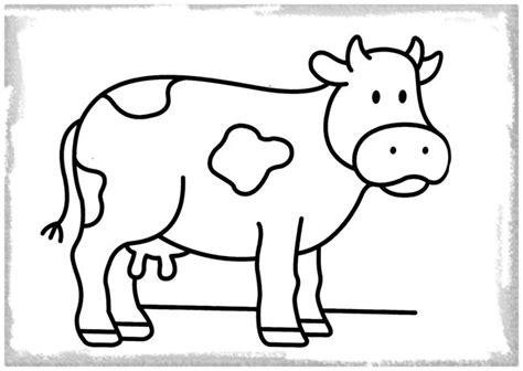 Dibujo Infantil de una Vaca Hermosa | Fotos de Vacas