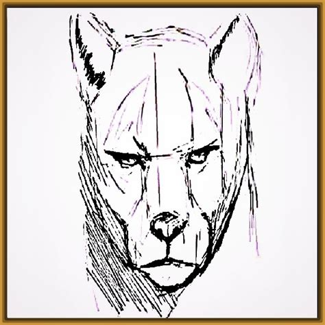 Dibujos a Lapiz de Tigres Fáciles Paso a Paso | Fotos de ...