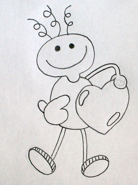 Dibujos A Lapiz Sencillos De Amor | www.pixshark.com ...