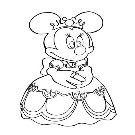 Dibujos Animados Para Colorear De Minnie