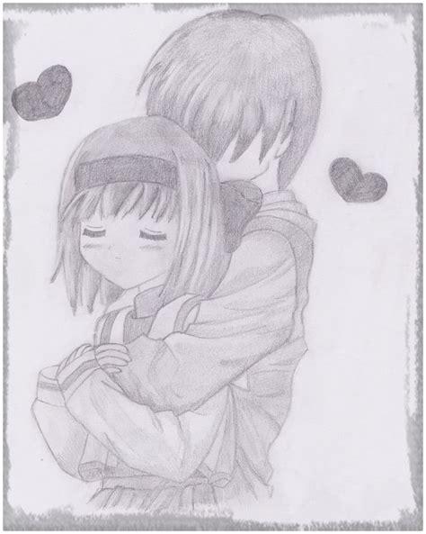 Dibujos Anime A Lapiz De Amor   Dibujos de Amor a Lapiz