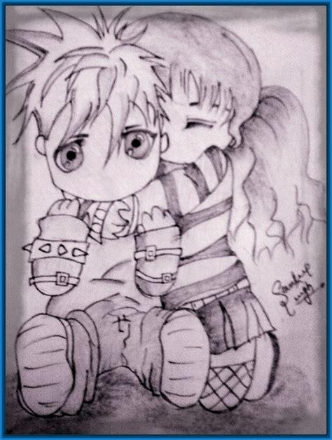 Dibujos De Amor A Lapiz Carboncillo   Dibujos de Amor a Lapiz