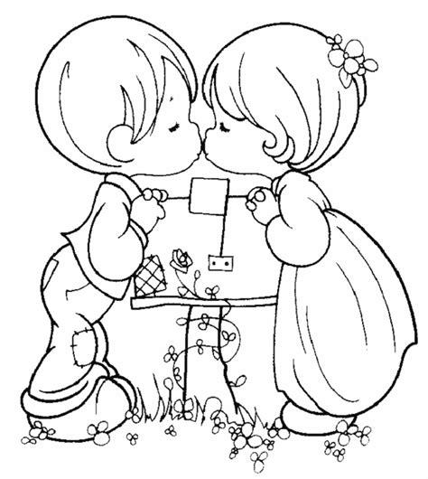 Dibujos de Amor para Colorear 2 | Dibujos Online