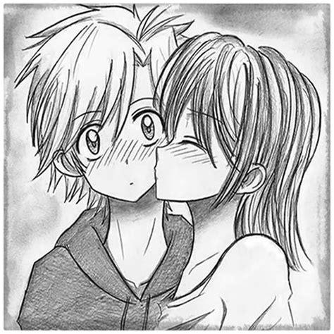 Dibujos De Amor Sombreados   Dibujos de Amor a Lapiz