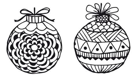Dibujos de bolas de Navidad para imprimir y colorear ...