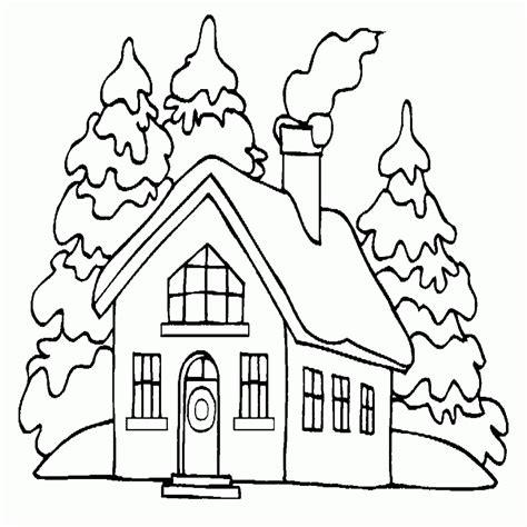 Dibujos De Casas Para Colorear E Imprimir Gratis ...