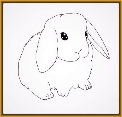 Dibujos De Conejitos Faciles y Útiles | Imagenes de Conejitos