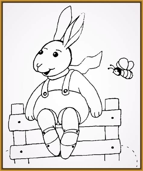 Dibujos de Conejos para Imprimir y Pintar | Imagenes de ...